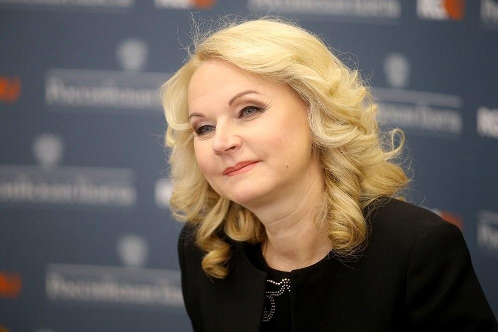 Татьяна Голикова в Госдуме