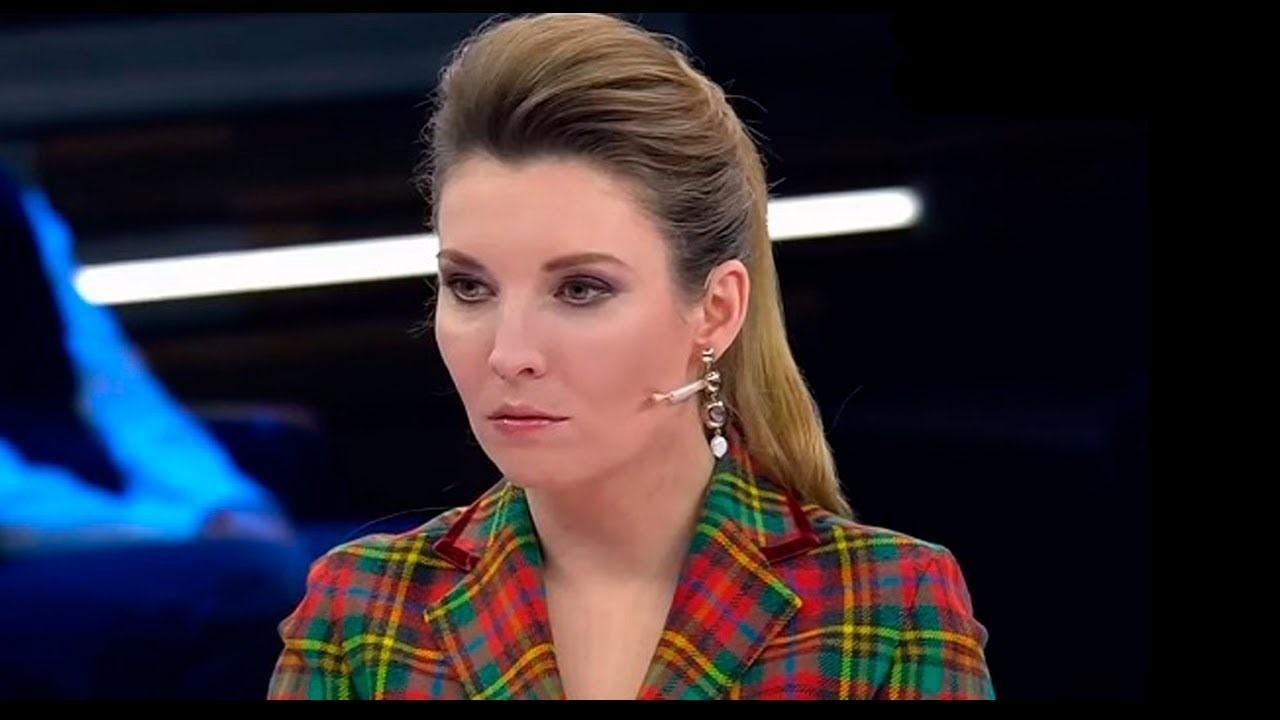 Телеведущая Ольга Скабеева