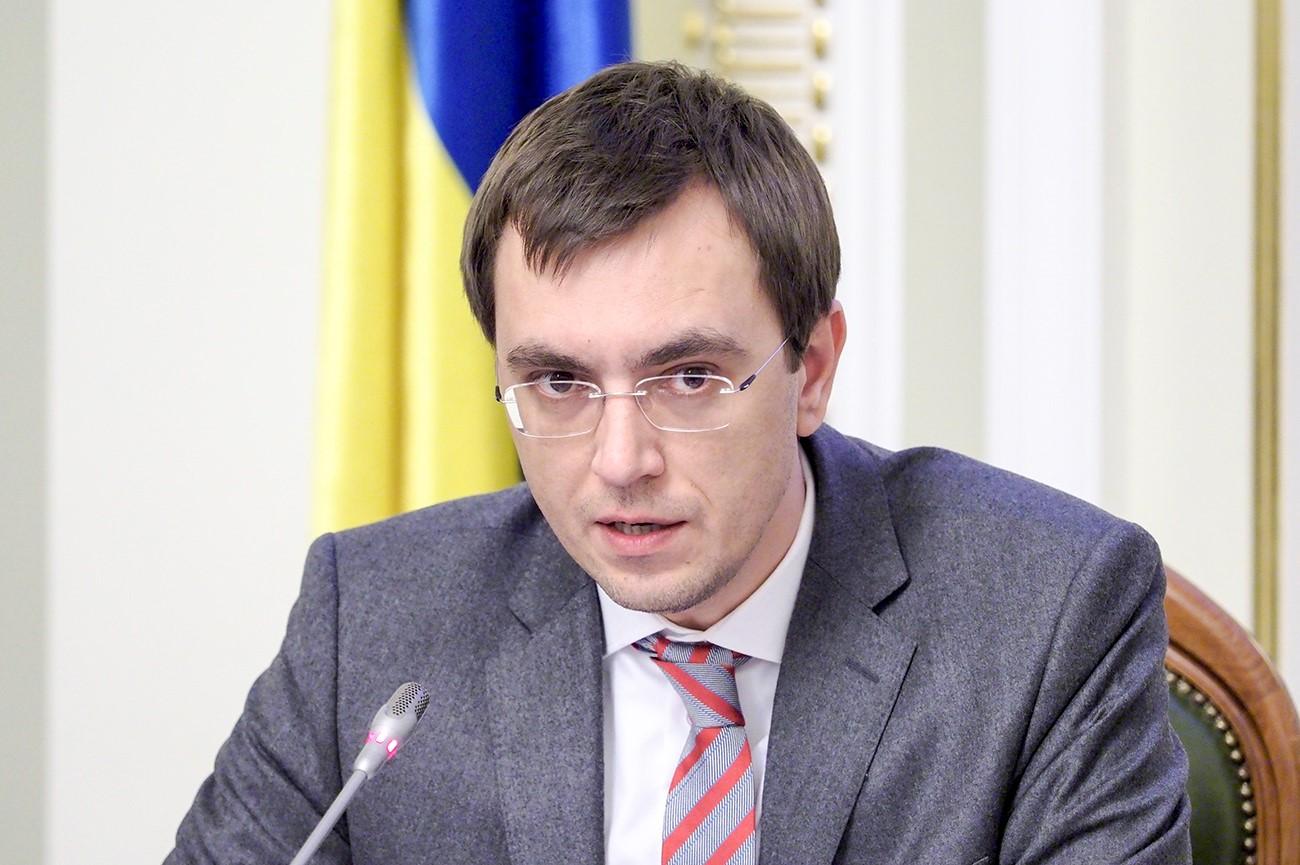 Владимир Омелян, украинский министр