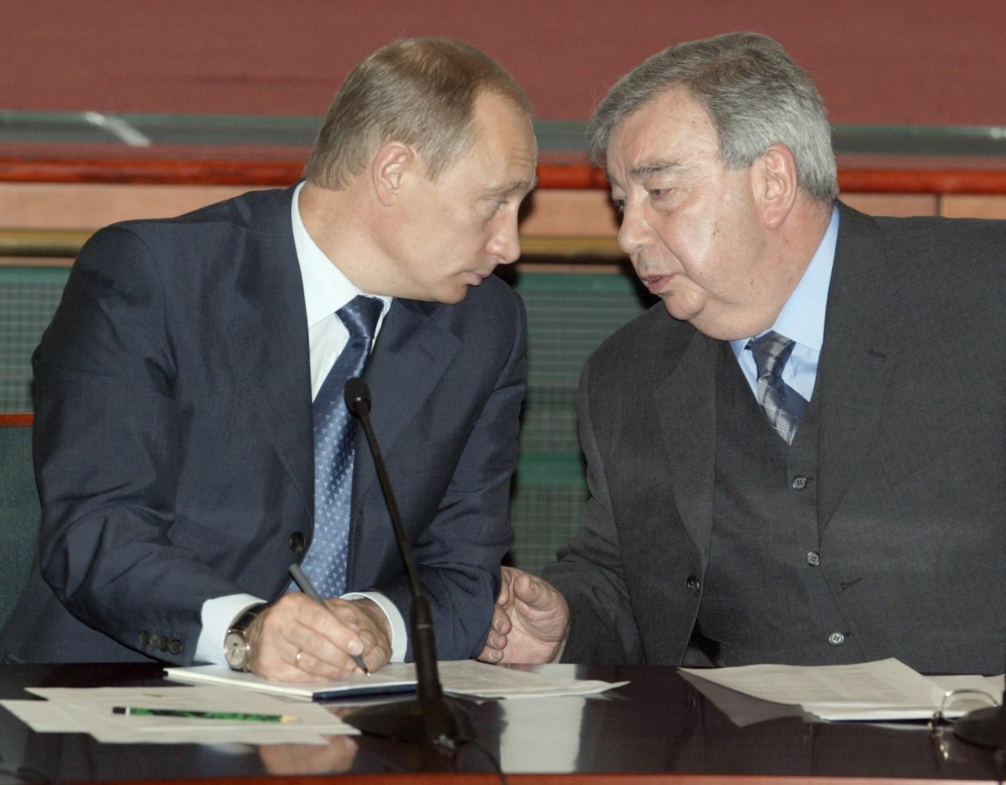 Владимир Путин и Евгений Примаков