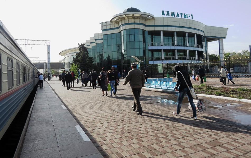 Вокзал Алматы