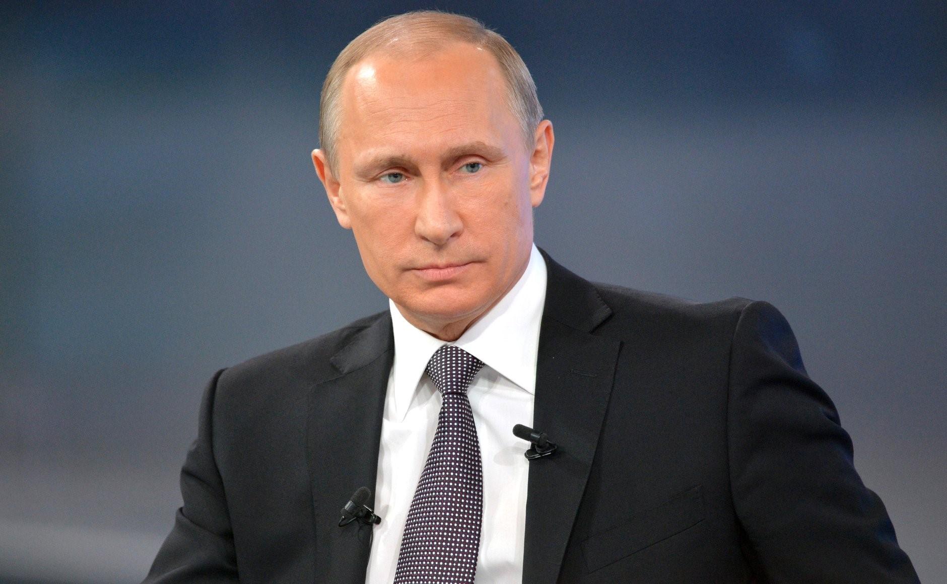 В.В,Путин, президент России
