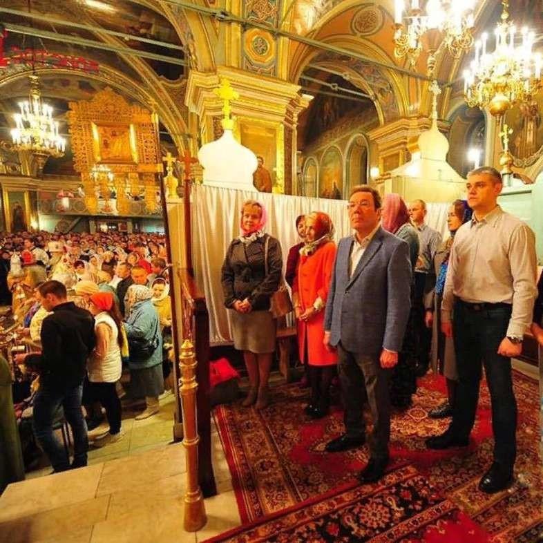 Церковная вип-зона в Сызрани