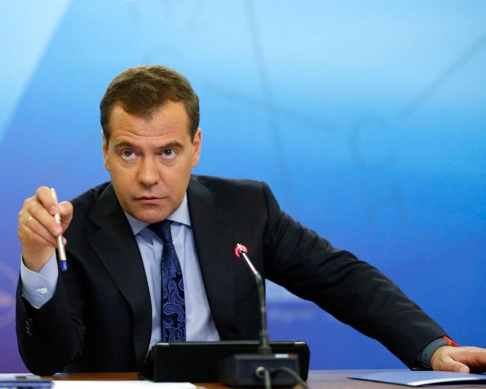 Дмитрий Медведев на пресс-конференции
