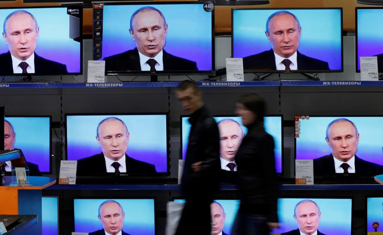 Федеральное телевидение показывает Путина