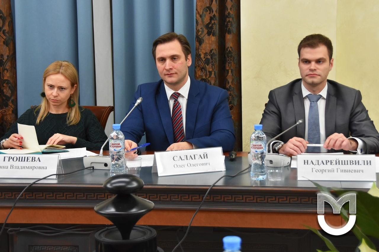 Георгий Недарейшвили на научной конференции