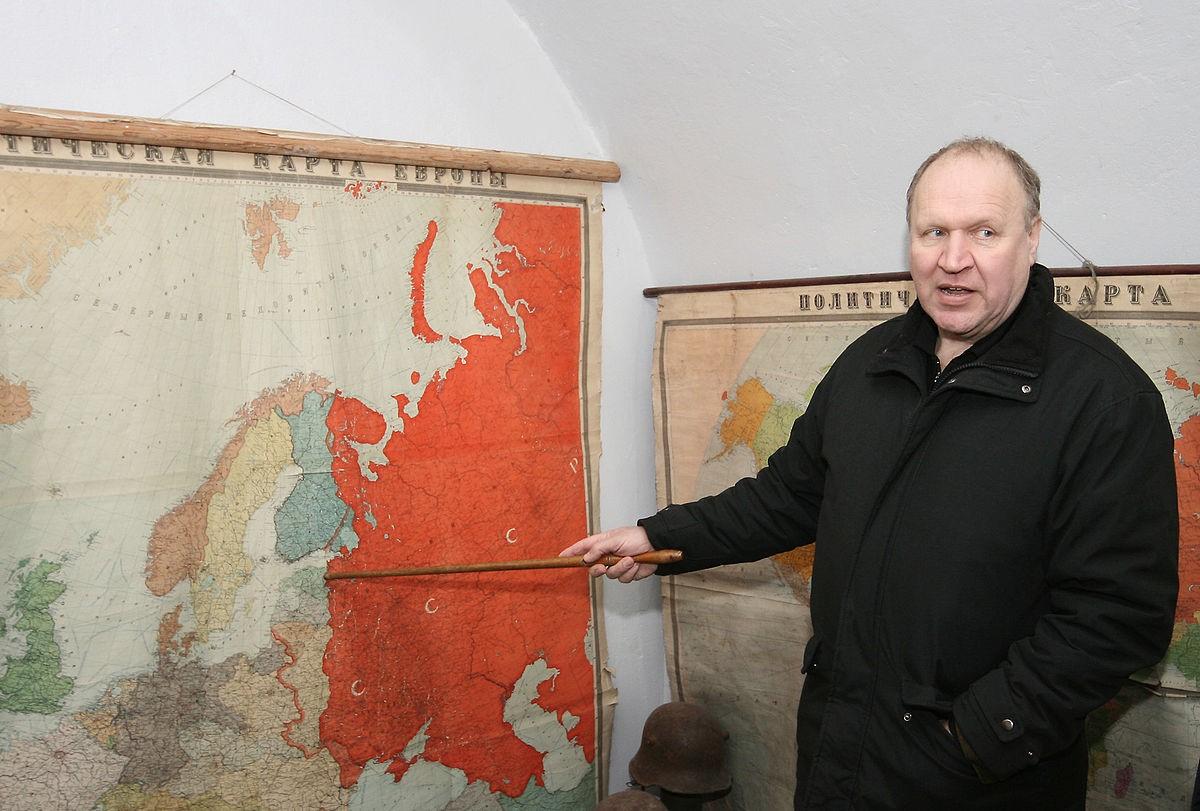 Глава эстонского МИД показывает, на какие территории претендует его страна