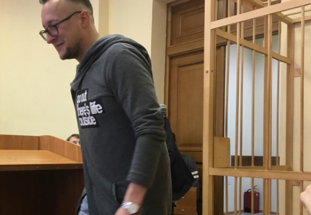 Кирилл Попутников в суде