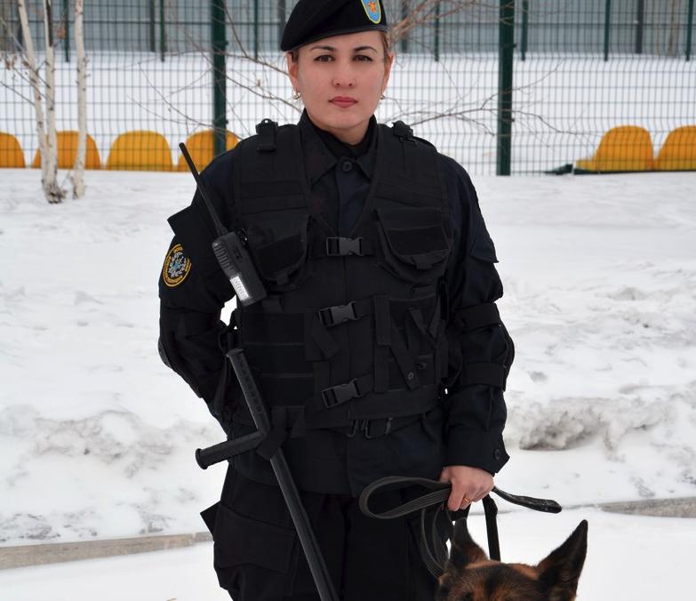 Красавицы армии Казахстана