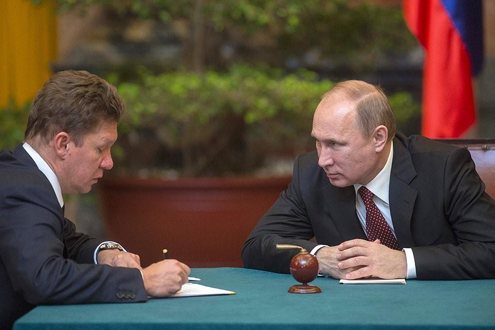 Миллер и Путин беседуют