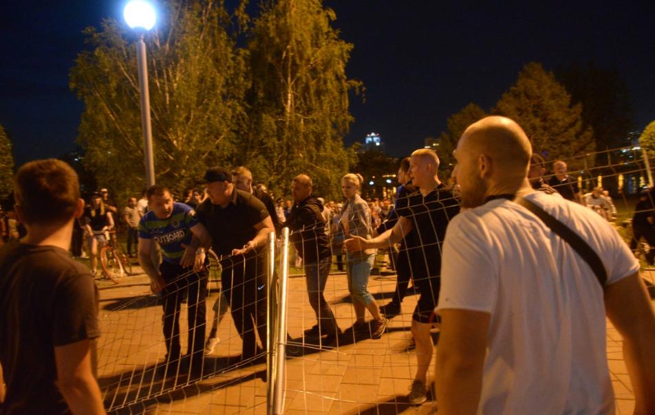 Митингующие в Екатеринбурге