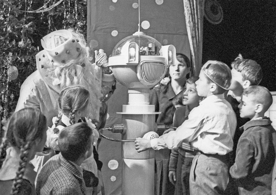 Новогоднее шоу в СССР