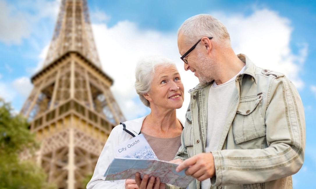 Пенсионеры во Франции живут в свое удовольствие