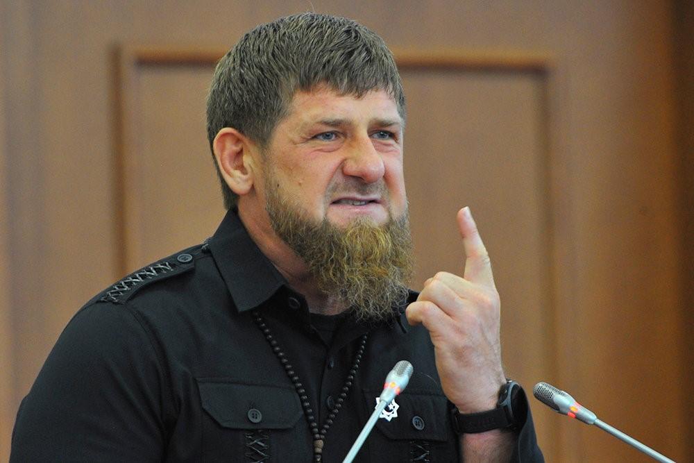 Плачущий Кадыров