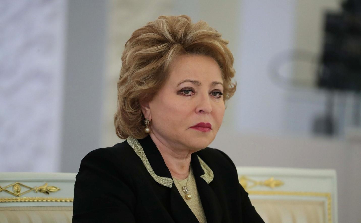 Политик Матвиенко