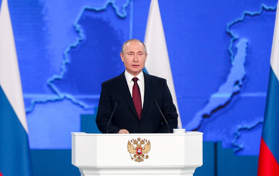 Президент обращается к гражданам