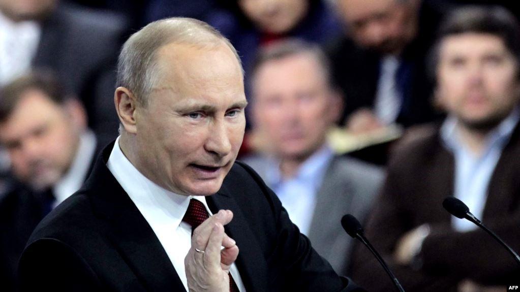 Путин на телепередаче