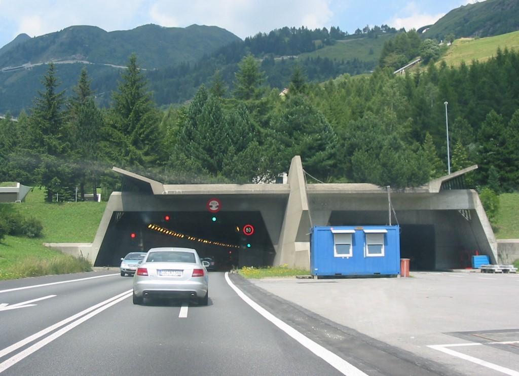 Швейцарский Готардский тоннель
