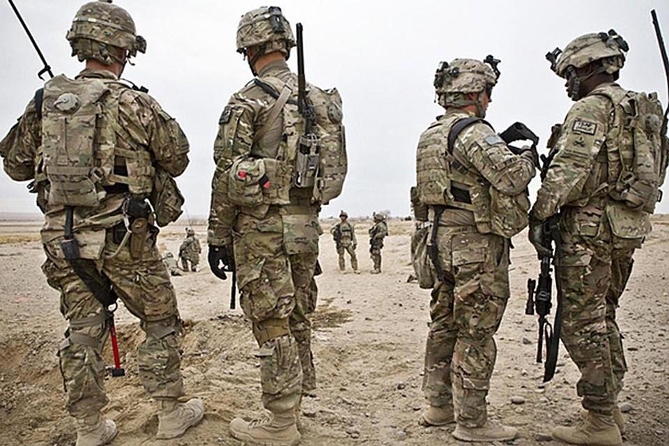 Солдаты США в Афгане