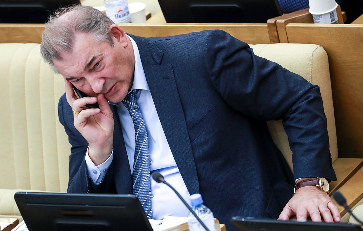 Спортсмены в Парламенте России