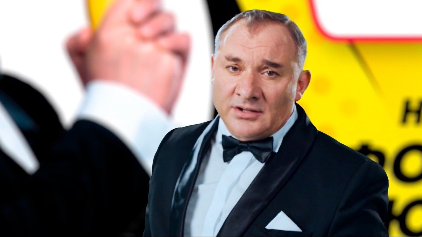 Телеведущий Николай Фоменко
