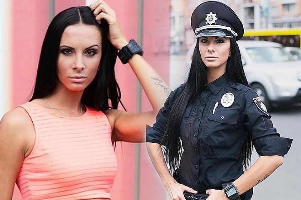 Украинские красавицы в форме