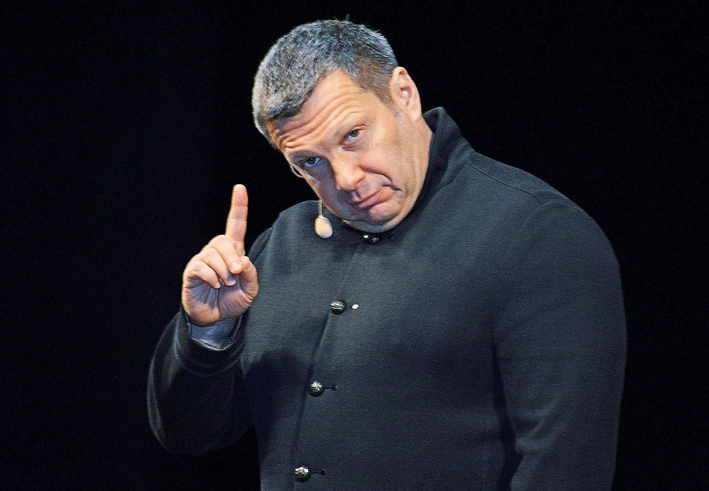 Ведущий Владимир Соловьев