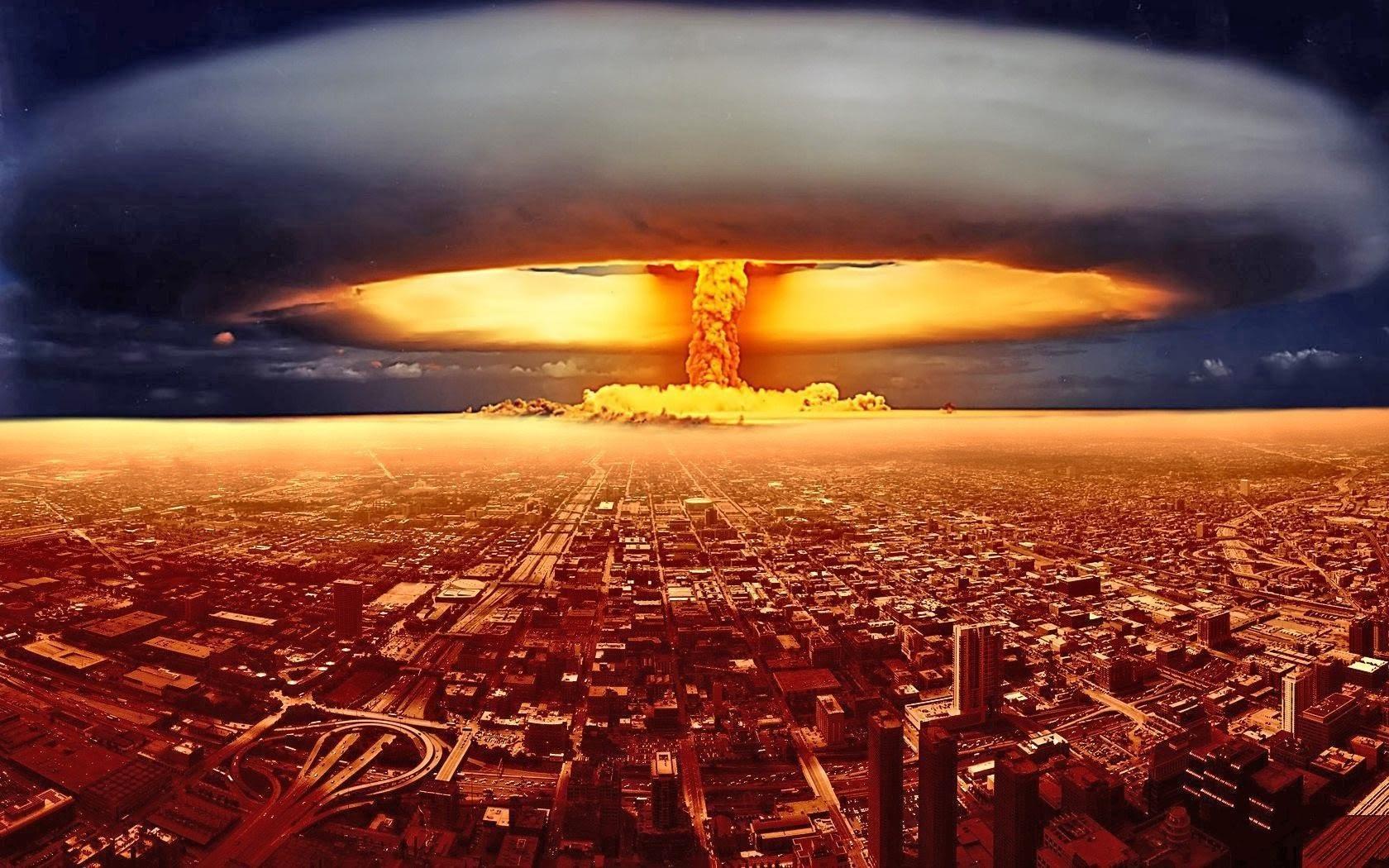 Ядерный удар по городу