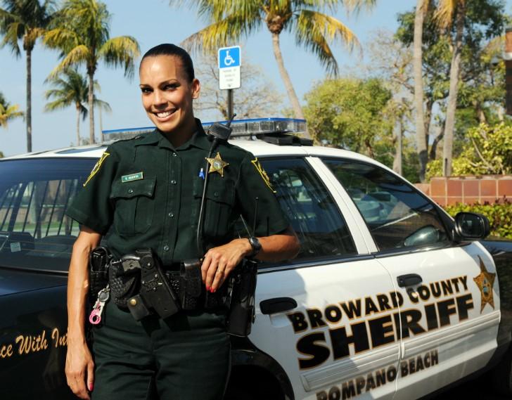 Женщины-полицейские из США