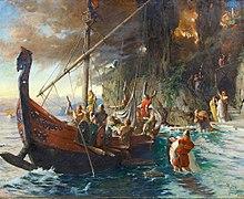 с кем воевали викинги