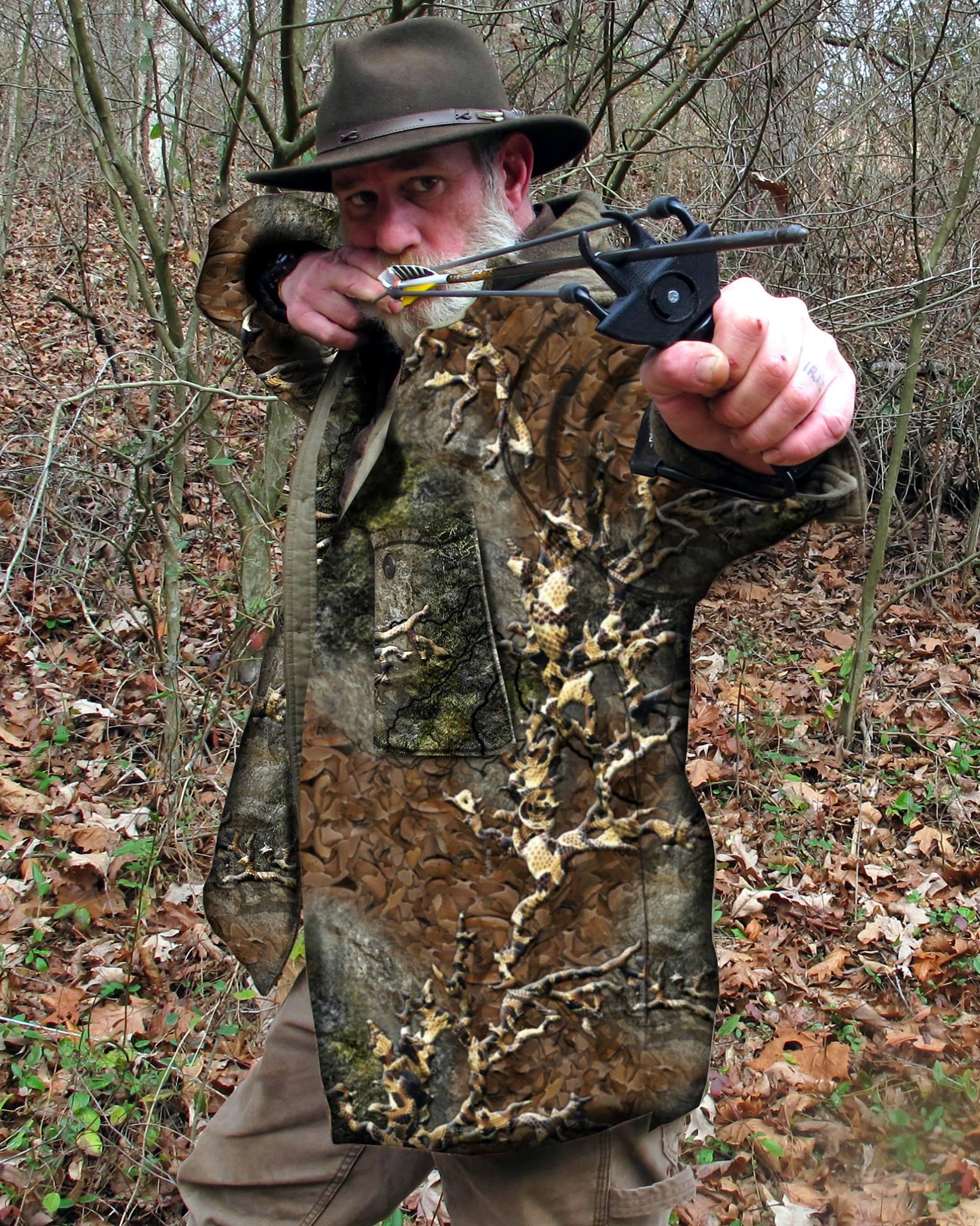 как сделать рогатку для охоты