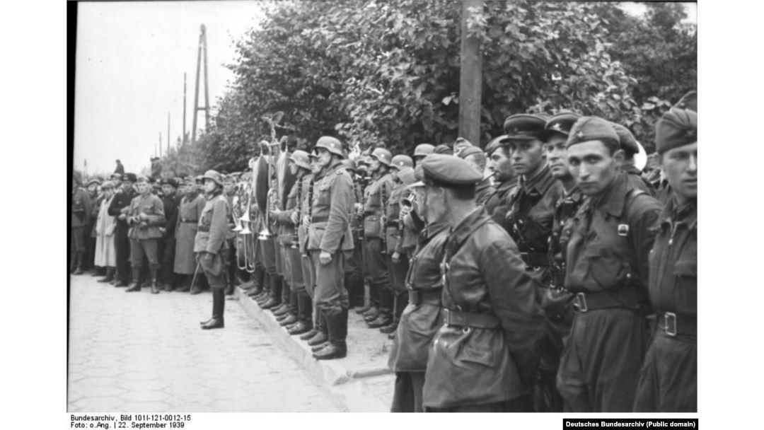 нападение фашистской германии на польшу