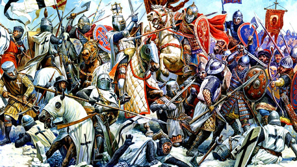 вторжение крестоносцев на псковскую землю год