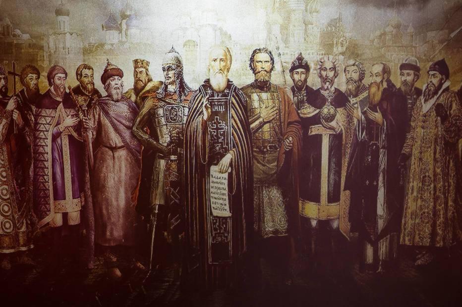 откуда появились русские люди