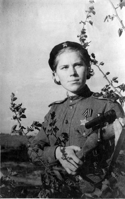роза шанина снайпер биография
