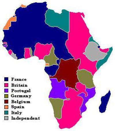 страны колонии в наше время