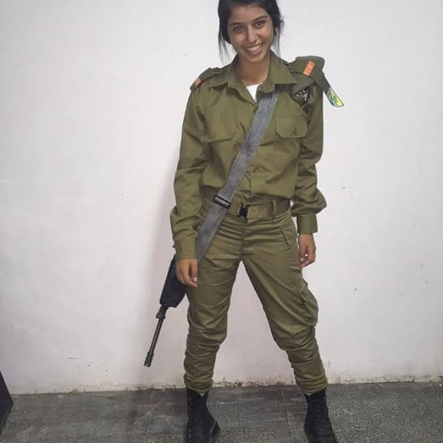 израильские девушки военные