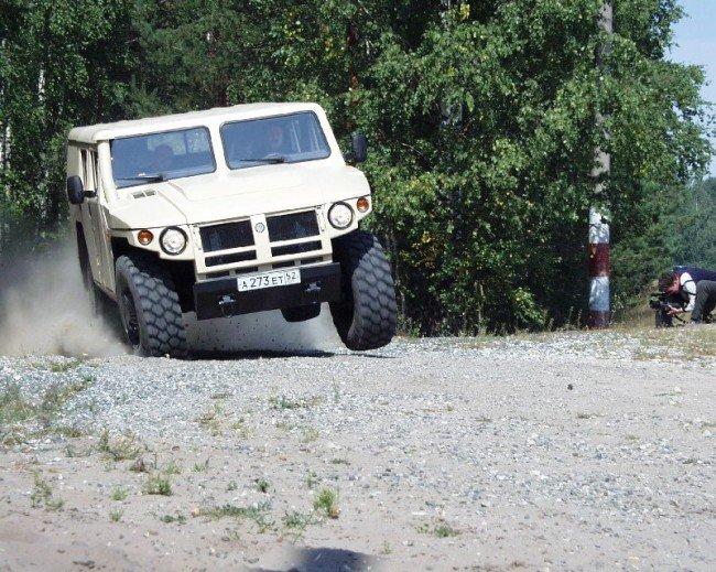 автомобиль тигр гражданская версия фото