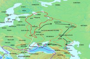 восточный поход святослава