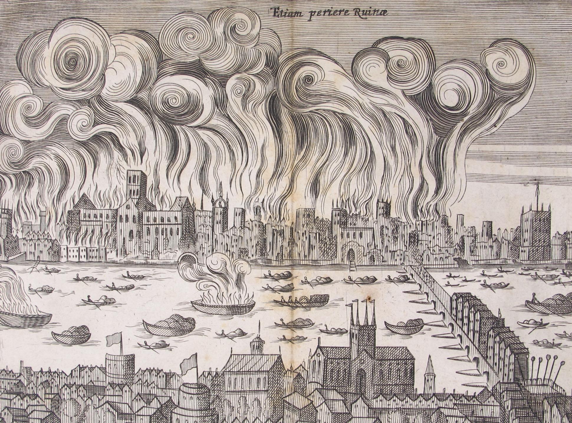 большой пожар в лондоне