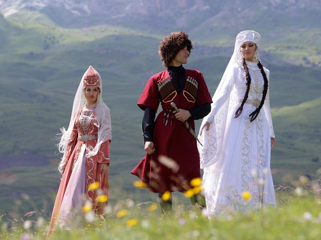 кавказские нации