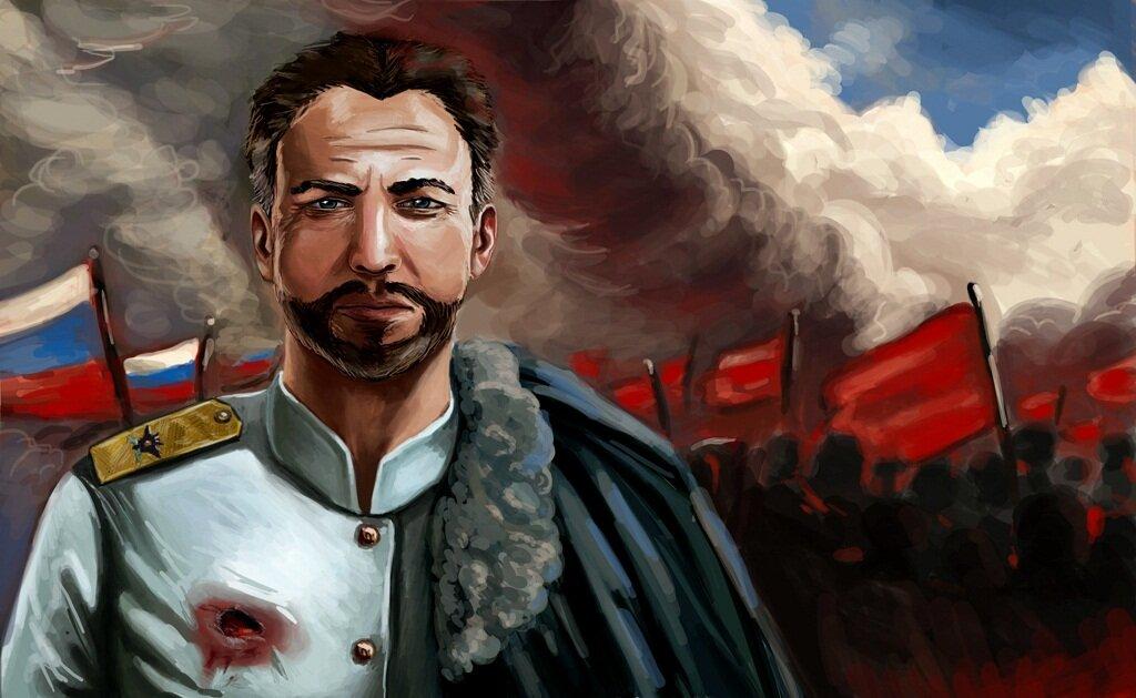белое движение в гражданской войне
