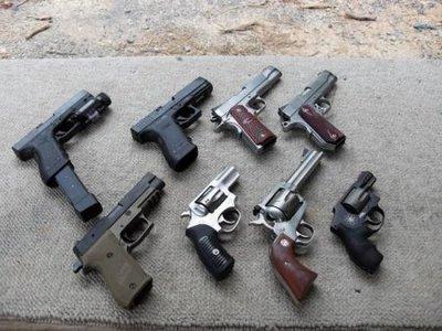 современные пистолеты