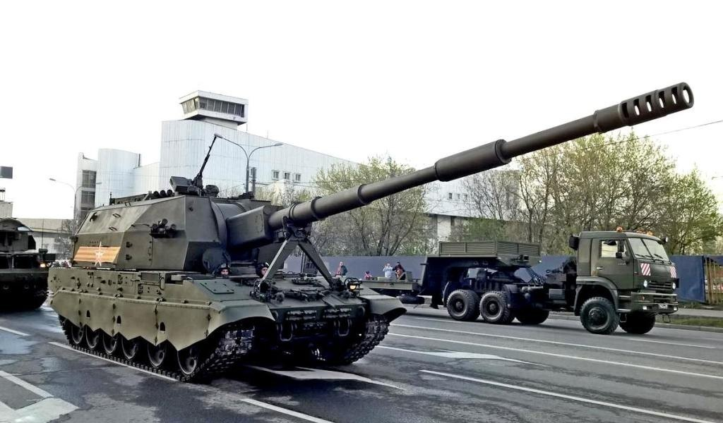 коалиция св 152 мм самоходная гаубица ттх