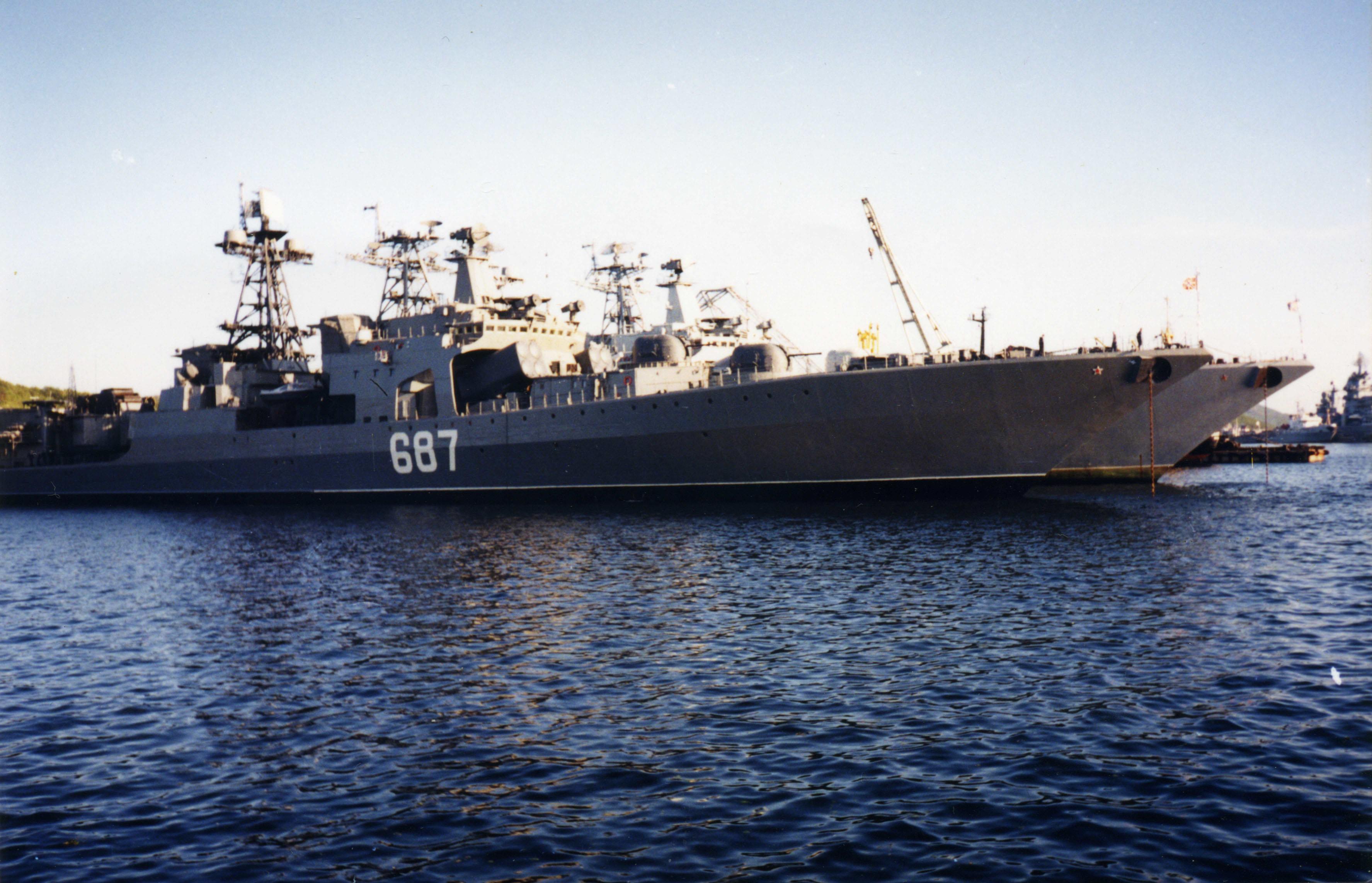 североморск большой противолодочный корабль
