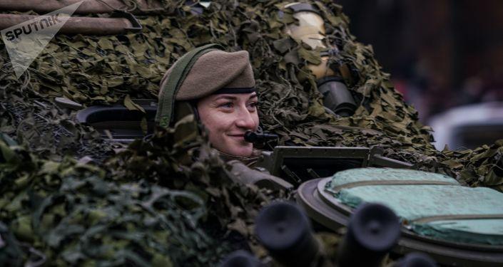 женщины в российской армии