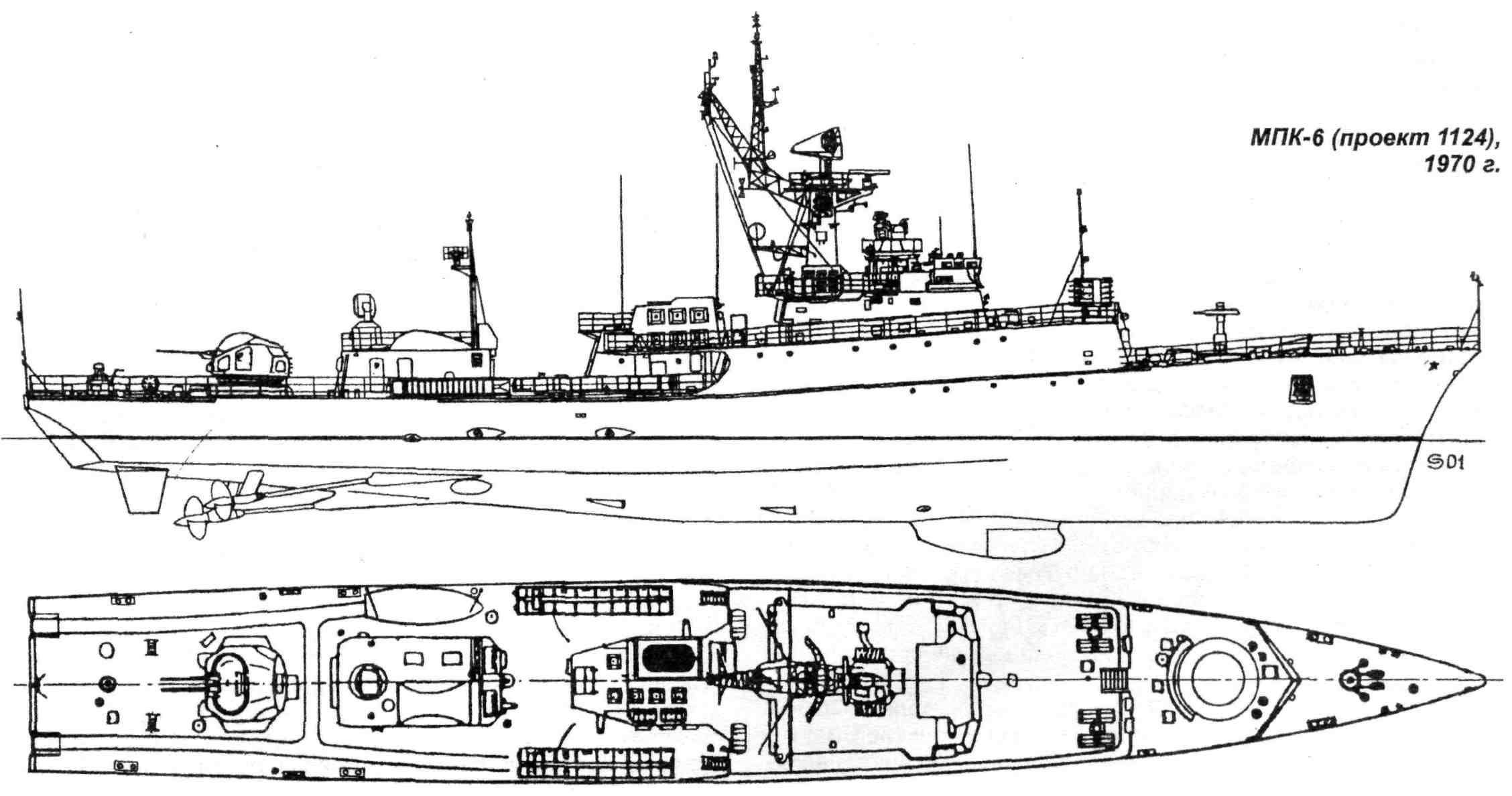 мпк проекта 1124