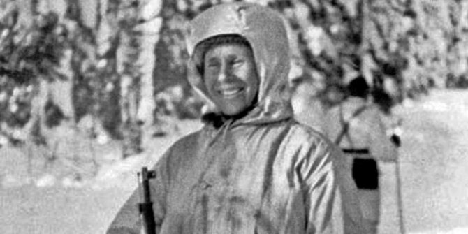 финский снайпер симо хяюхя