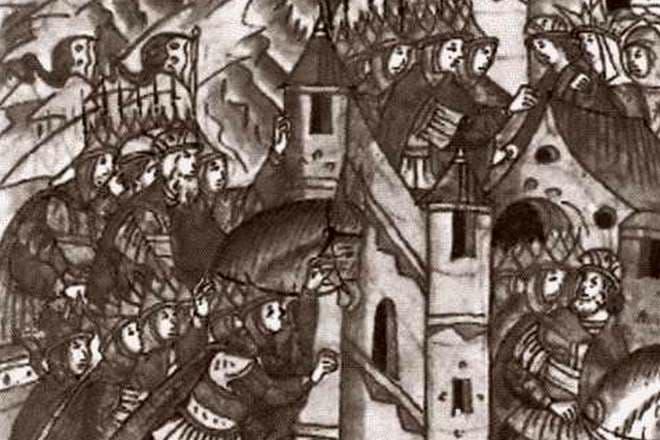 князь игорь был убит древлянами за