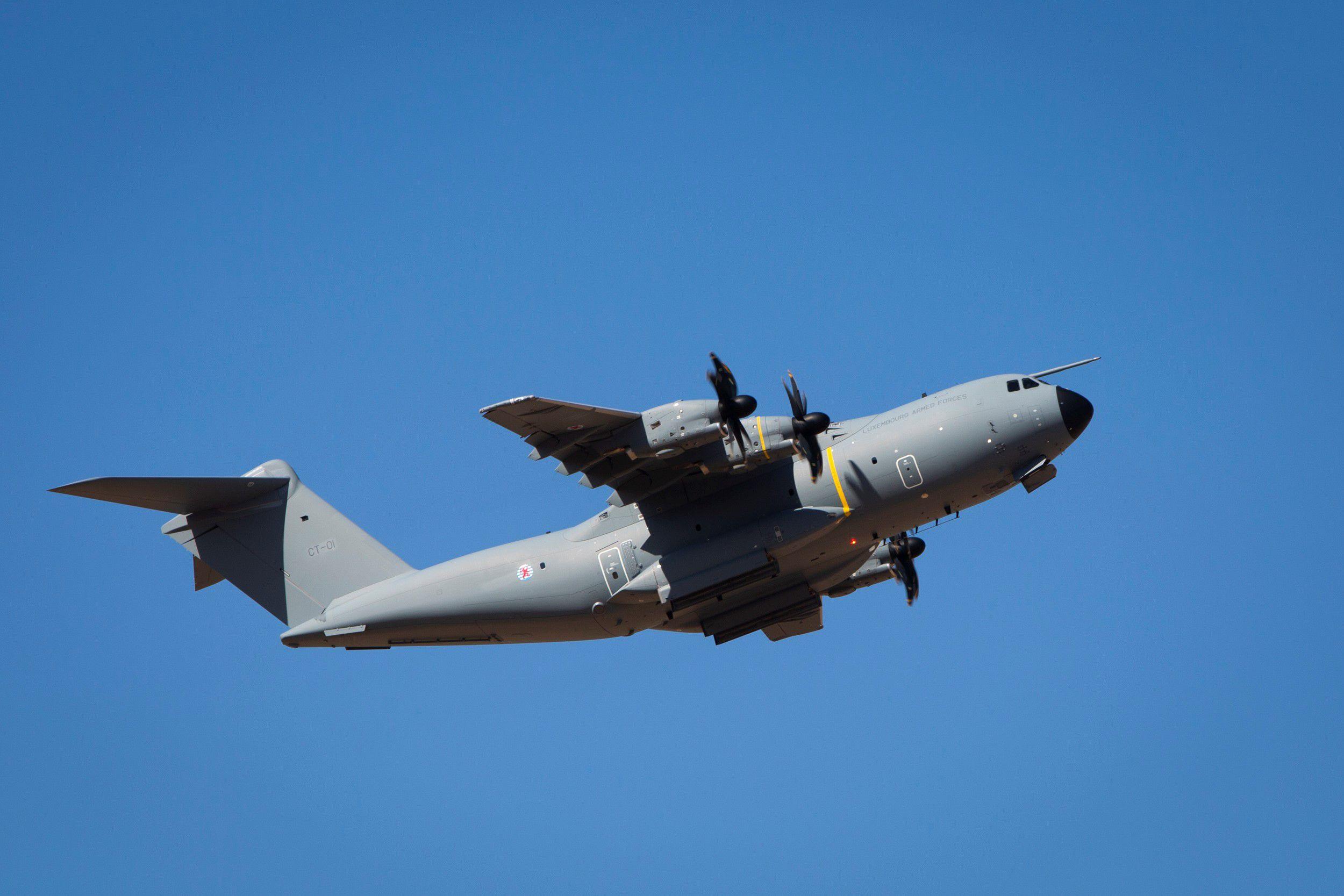 транспортный самолет выпускаемый airbus military